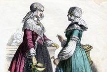 Fryske froulju fan foarhinne,  Frisian women of the past / Frisian traditional costumes