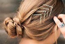 Hair with Flair / Hair accessories can be so much fun to add to your look, here are some of our favorite ideas!