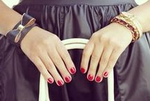 Nailed it! / Fun & funky nail ideas. Book a mani and/or pedi with GLAMSQUAD: http://bit.ly/BookGLAM