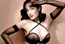 Dita Von Teese / Dita Von Teese (born Heather Renée Sweet on September 28, 1972) is an American burlesque dancer, model, costume designer, entrepreneur and occasional actress. She is thought to have helped re-popularize burlesque performance and was once married to Marilyn Manson.[4