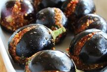 "Aubergine | Eggplant | Brinjal / ""A nickel's worth of goulash beats a five dollar can of vitamins."" Martin H. Fischer"