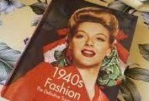 40's 50's fashion / Beautiful feminine clothing