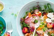 Crunchy, Crisp & Colourful / Scrumptious Salads
