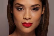 Glamsquad's the Icon / Boldly-lined smokey eyes, sculpted cheekbones and the perfect red lip. Think Old Hollywood Glamour!
