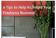 Freelancing / Ideas, money management, organisation tips, social media management and jobs for freelancers
