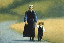 Anabaptist Simplicity / The Amish: the Mennonites: the Quakers: the Hutterites.Simple living, plain dress and a reluctance to adopt modern technology....the Anabaptist, Amish . / by Elise