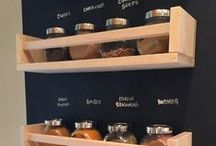 Pantry / Every serious kitchen needs one... | where to put all those jams and pickles and mass-bulk buys ;-)