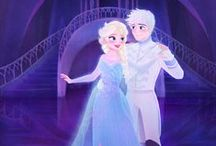 ❄️❄️❄️Jelsa❄️❄️❄️ / The bond had split long ago, though no one knows the reason so. Two sides that could've been one, vowed never to join for the damage was done. Though they went through all of this, there is one detail they did miss. One day two people; both born of the cold, will meet and their story shall unfold. And as their two realms do best to keep them apart, they will not conquer the love in their frozen hearts. - LittleMissRockChic