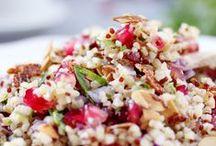 Cuisine salée ~ Quinoa et boulgour
