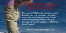 "McKenzie-módszer / ""McKenzie torna"", Gerincsérv gyógytornája"