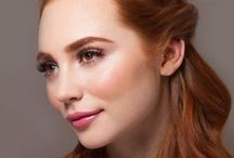 Glamsquad's the Muse / A delicate and dreamy half-up style.