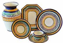 """Beautiful Dinnerware / Gorgeous, colorful, unique and artisan crafted diningware, tableware and dinner sets and place settings.  Our motto:  """"The plates should be as delicious as the food it's serving.""""  Pottery, beautiful pottery, pots, dishes, dinnerware"""