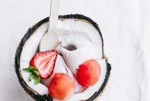 Cuisine sucrée ~ Nicecream et autres desserts glacés