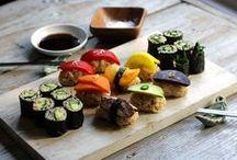Cuisine salée ~ Sushi et onigiri