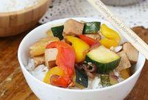 Cuisine salée ~ Saveurs asiatiques et exotiques