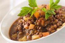 Cuisine salée ~ Lentilles