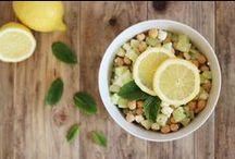 Cuisine salée ~ Pois chiches et autres haricots