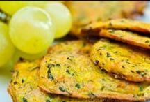 Cuisine salée ~ Galettes veggie