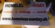 The Mouse Town on Homeless Sunday / There's Support and Some Comforting Food on Offer for Homeless Sunday from Those Church Mice! Welcome to the Ministry, Mishaps and Musings from the 12th Scale Parish of St M's with Artist and Storyteller Tee Bylo