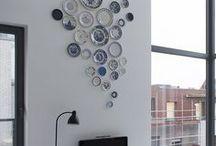 Artisan Wall Decor / Home decor ideas, home decor inspiration, plate on wall, plates for wall decor, pottery for home decor