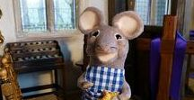 The Mouse Town During Lent / Welcome to the Ministry, Mishaps and Musings from the 12th Scale Parish of St M's with Artist and Storyteller Tee Bylo