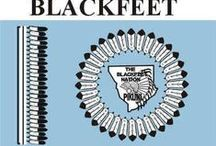 Black foot indians / Native American Blackfoot Indians