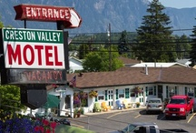 Creston Valley Motel / The Creston Valley motel is centrally located, just east of the downtown core, across from the Dairy Queen and only 2 blocks from the heart of Creston BC.
