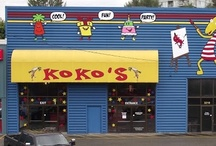 Koko's Activity Centre / Koko's provides with the opportunity to participate in various activities to promote physical fitness, socialization, and creative expression.  Koko's indoor playground is designed for children of all ages including: Toddler Area, Kiddie Rides, Four-storey Soft-play Area, Private Party Rooms, Cafe & Dining Area, Parents Lounge with magazines and satellite TV, Theatre Area playing Koko's Adventures and student animations and Free Wi-Fi