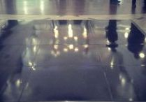 Vinyl wrapped floor panels / We create your floor bespoke for you by covering each panel is your choice of vinyl colour
