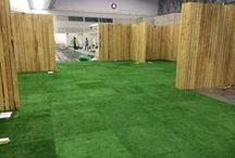 Astroturf - synthetic grass