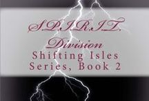 S.P.I.R.I.T. Division (Shifting Isles, Book 2) / Honorary Detective Asenna Shyth tracks down a serial murderer while also struggling to accept her strange, telepathic connection to the victims, an ability made only more confusing thanks to her own amnesia.