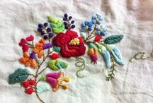 10 VR FLORAL EMBROIDERY / floral embroidery / by ruth griffiths