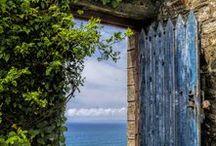 STAIRS.....:) DOORS....
