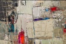 Sara Noel / Abstract Expressionist ~ Mixed Media ~ Oil