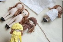 Dollmaking / Lots of ideas and patterns for making dolls
