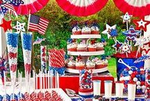 Fun, Food and Fireworks / Host an unforgettable 4th of July party! With tasty foods, cold drinks and entertainment, you'll throw America one heck of a celebration. / by Nostalgia Products