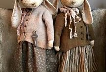 Cloth Dolls / A charming collection of handmade dolls to tempt you for your little one or even for yourself.
