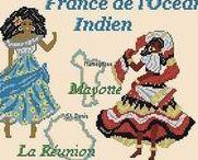 Les KITS DE BRODERIES des Régions de France / Comme tout le monde a piqué mes dessins, que je les fais supprimer, les récidivistes recommencent avec mes broderies, de toutes les Régions de France. SANS MON COPYRIGHT,  et SANS nommer le fabricant LUC Créations Alors, au lieu d'aller les piquer sur les boutiques en ligne ( où est écrit mon Copyright ) Prenez celles-ci, s'il vous plait !