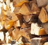 Outdoor Wood Stacking / Practical, fun, and creative woodpiles and firewood storage ideas.