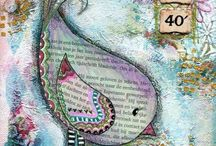Art journaling / by Sandy Brittain