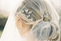 Pretty 'Do's and Elegant Coifs / Hairstyles for the big day!
