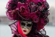 Venetiaans carnaval / pakken en maskers