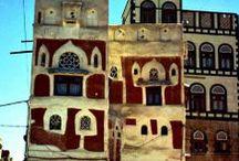 YEMEN/Architectural images from Yemen / traditional Yemen architecture