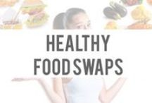 Healthy Food Swaps / by Okuma Nutritionals | SlimTea