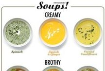 [Soups] / Healthy Soup Recipes, Soup Starters, & More
