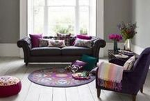 Interiors: Living Room - Lilac
