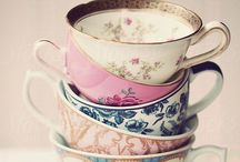 Lovely china and tea cups