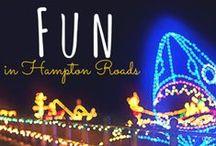 Fun in Coastal Virginia / Fun things to do in Virginia Beach, Norfolk, Chesapeake, Portsmouth and beyond.  Call 757-685-4400 to learn more! #coastalva #hamptonroads