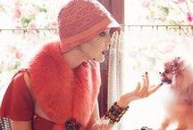 En Vogue / Haute fashion with a vintage flair