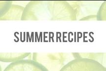Summer Recipes / Healthy, light, and delicious recipes perfect for summer! / by SlimTea